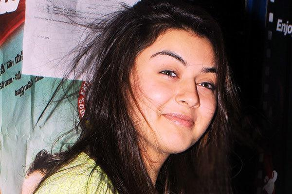 Hansika Motwani No Makeup Photos