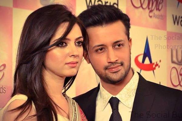 Atif Sara Beautiful Singer Couple