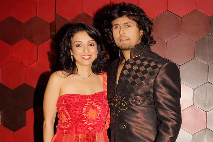 Sonu Nigam Madhurima Beautiful Singer Couple