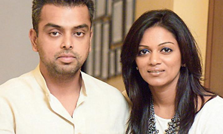 Milind Deora and Pooja beautiful wife of Indian politician