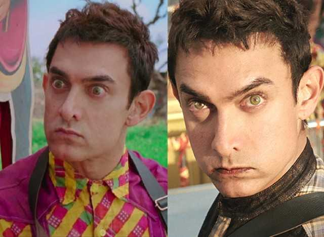 Aamir Khan Hairstyles
