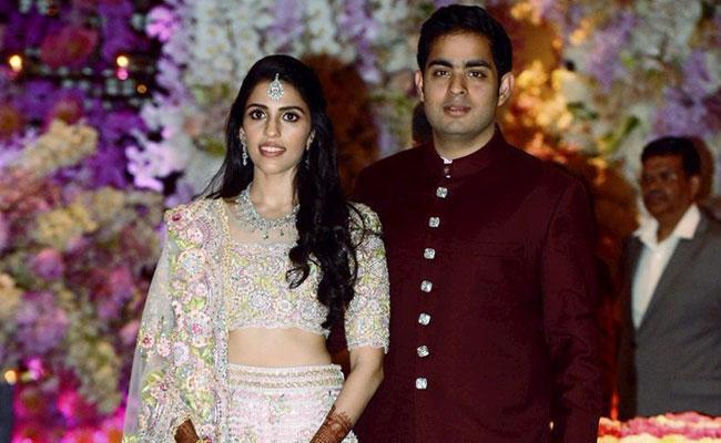 Akash Ambani Shaloka Mehta Engagement 2018
