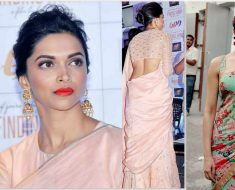 Deepika Padukone Popular Hairstyles