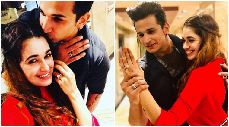 Prince Narula Yuvika Chaudhary Engagement 2018