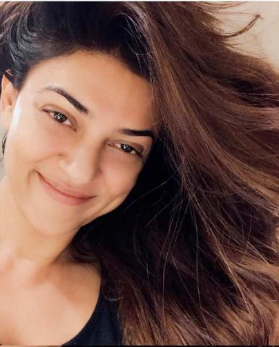 Sushmita Sen Miss India without makeup photos