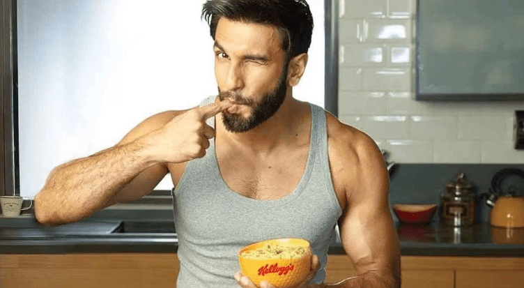 Image result for ranveer singh diet