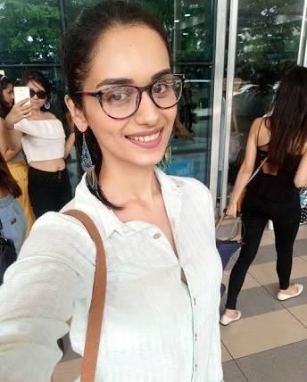 Manushi Chhillar Miss India without makeup photos