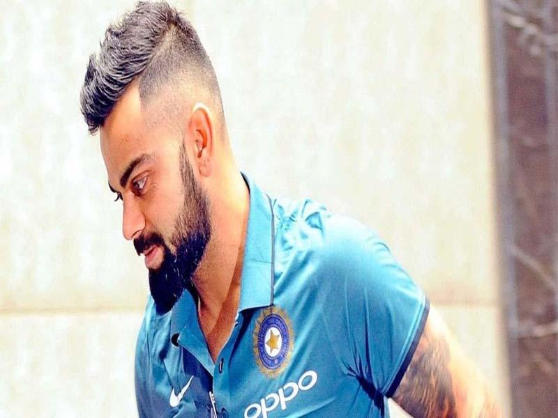 Popular Hairstyles Of Virat Kohli 1