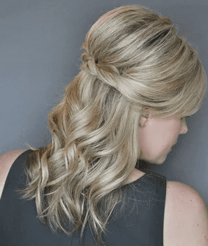 The Twisted Halfup - Ladies Hairstyle 2019