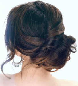 The Romantic Bun - Ladies Hairstyle 2019
