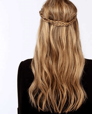 Braid Headband - ladies hairstyle 2019