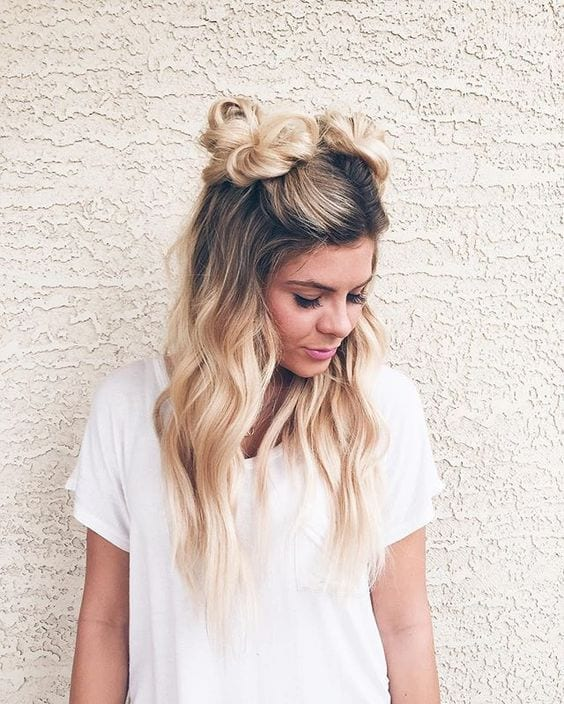 Space Buns - Ladies Hairstyle 2019