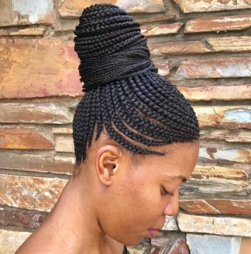 Cornrows - Ladies Hairstyle 2019