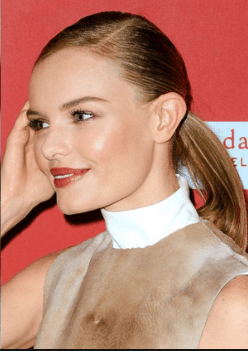 The Side Part Low Pony - Ladies Hairstyle 2019
