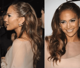 Pinned Back Hair - Ladies Hairstyle 2019