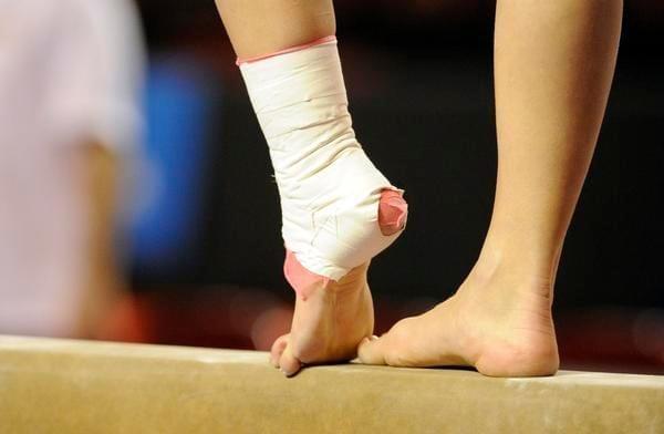 foot injury gym