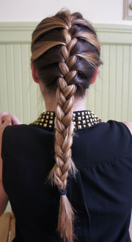 french braid - ladies hairstyle 2019