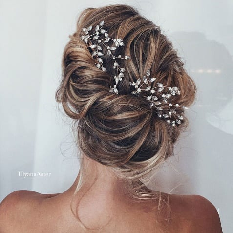 undone updos - ladies hairstyle 2019