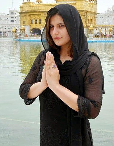 Zarine khan without makeup photos