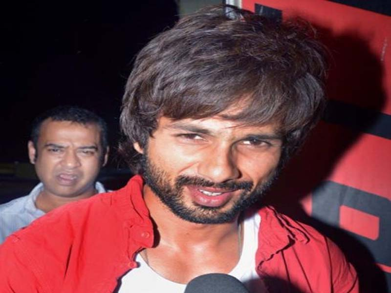 Shahid Kapoor - Actors without makeup