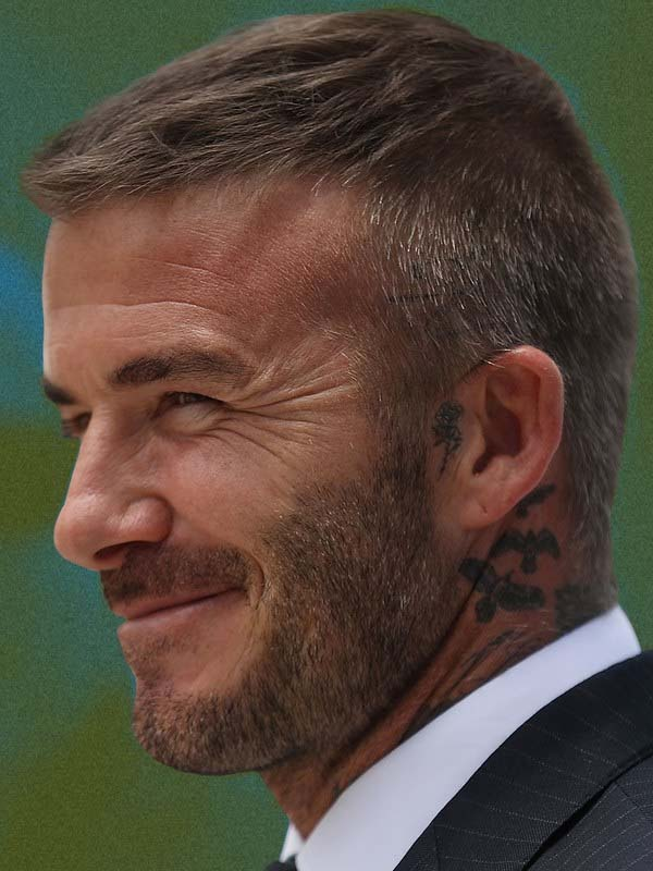 Best Pictures Of David Beckham Hairstyles 1