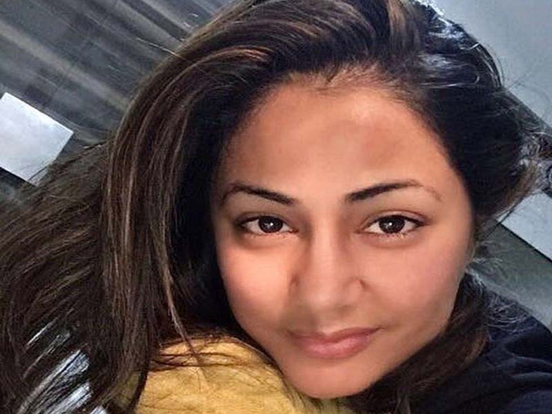 Hina Khan without makeup