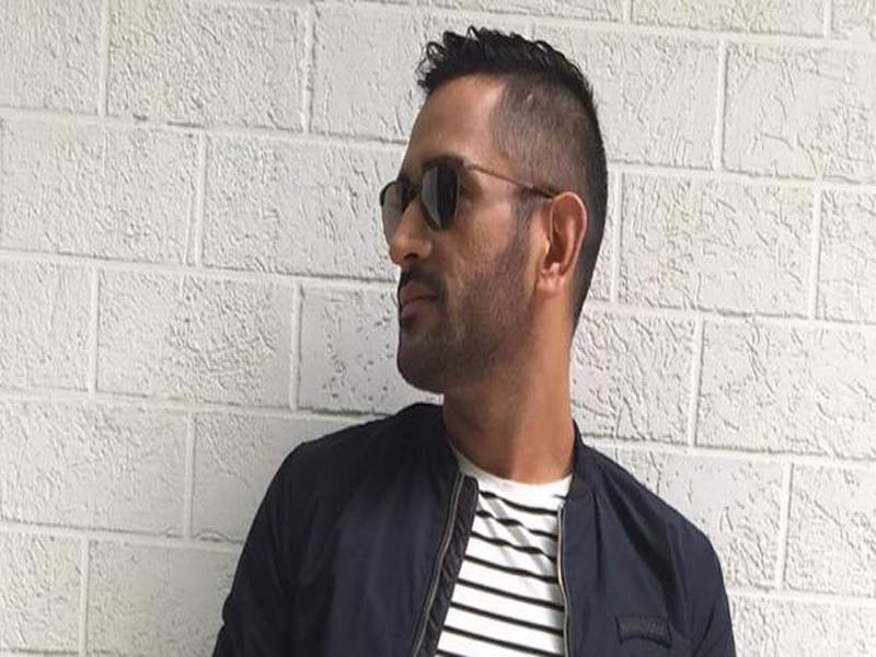 MS Dhoni Different Hairstyles Since 2007 To 2018 6
