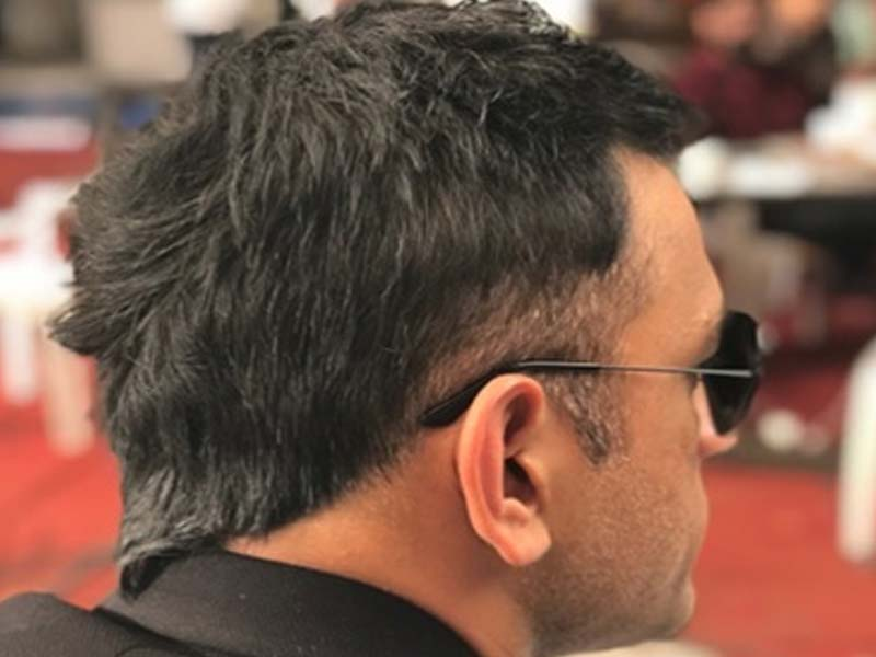 MS Dhoni Different Hairstyles Since 2007 To 2018 4