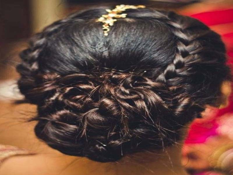 List of Indian Wedding Hairstyles for Women 4