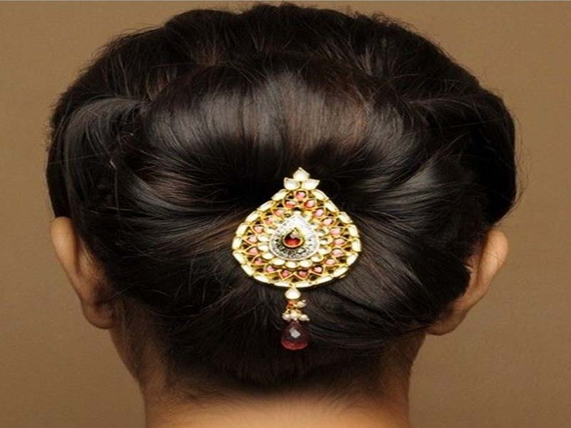 List of Indian Wedding Hairstyles for Women 2