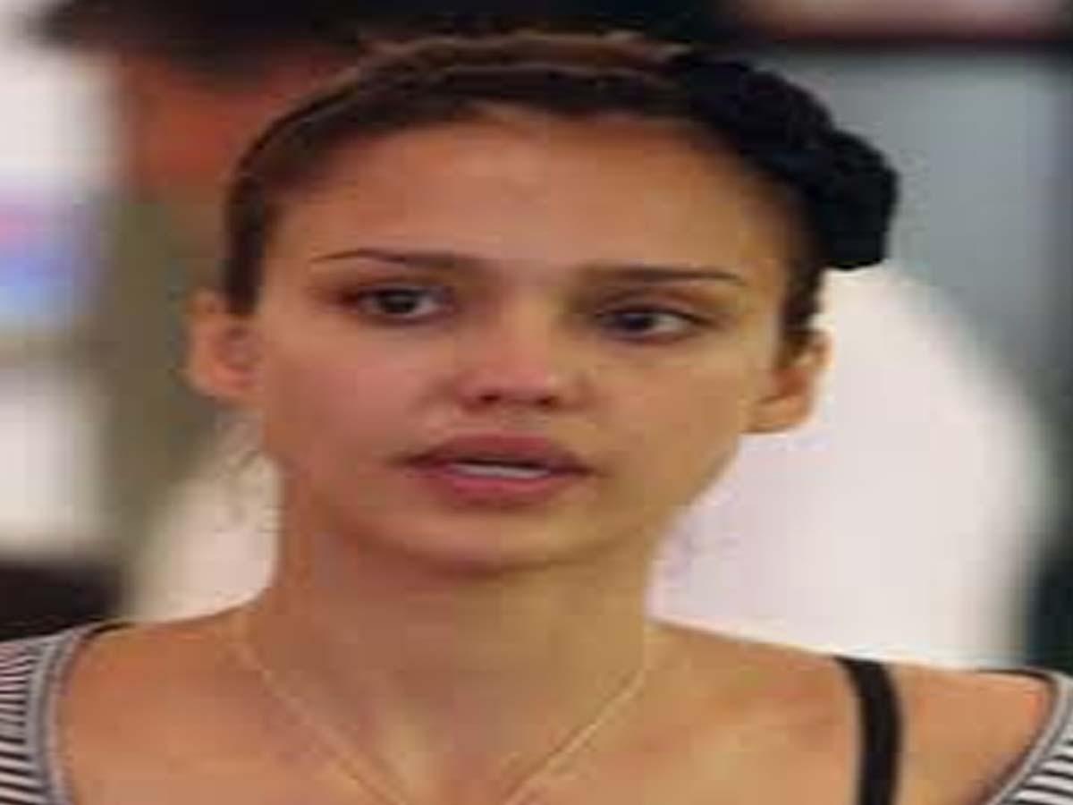 Jessica Alba without makeup photos