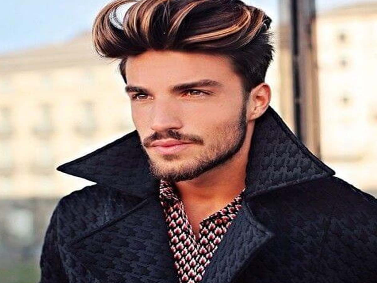 Men's Colored Hair- Latest Short Men's Hairstyles 2019