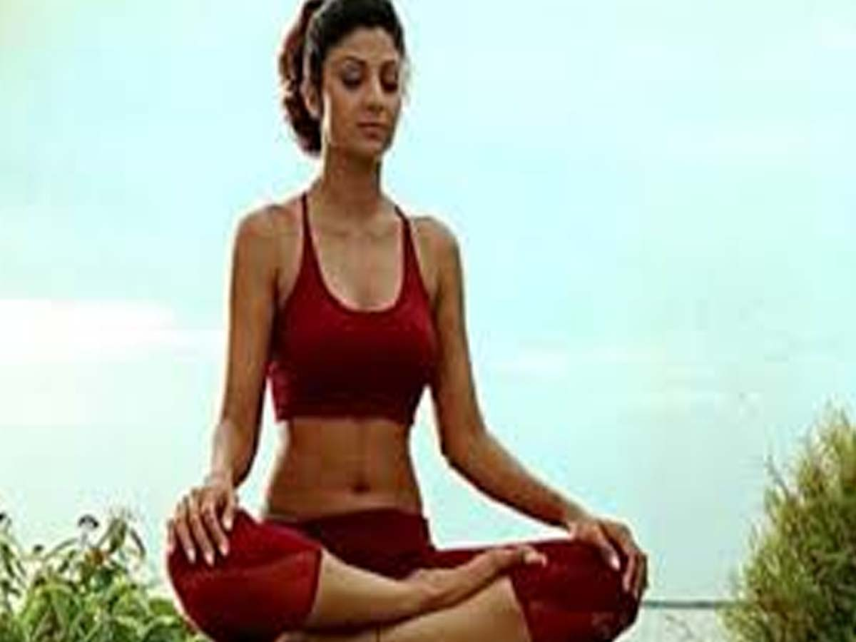 Indian Celebrities doing Yoga