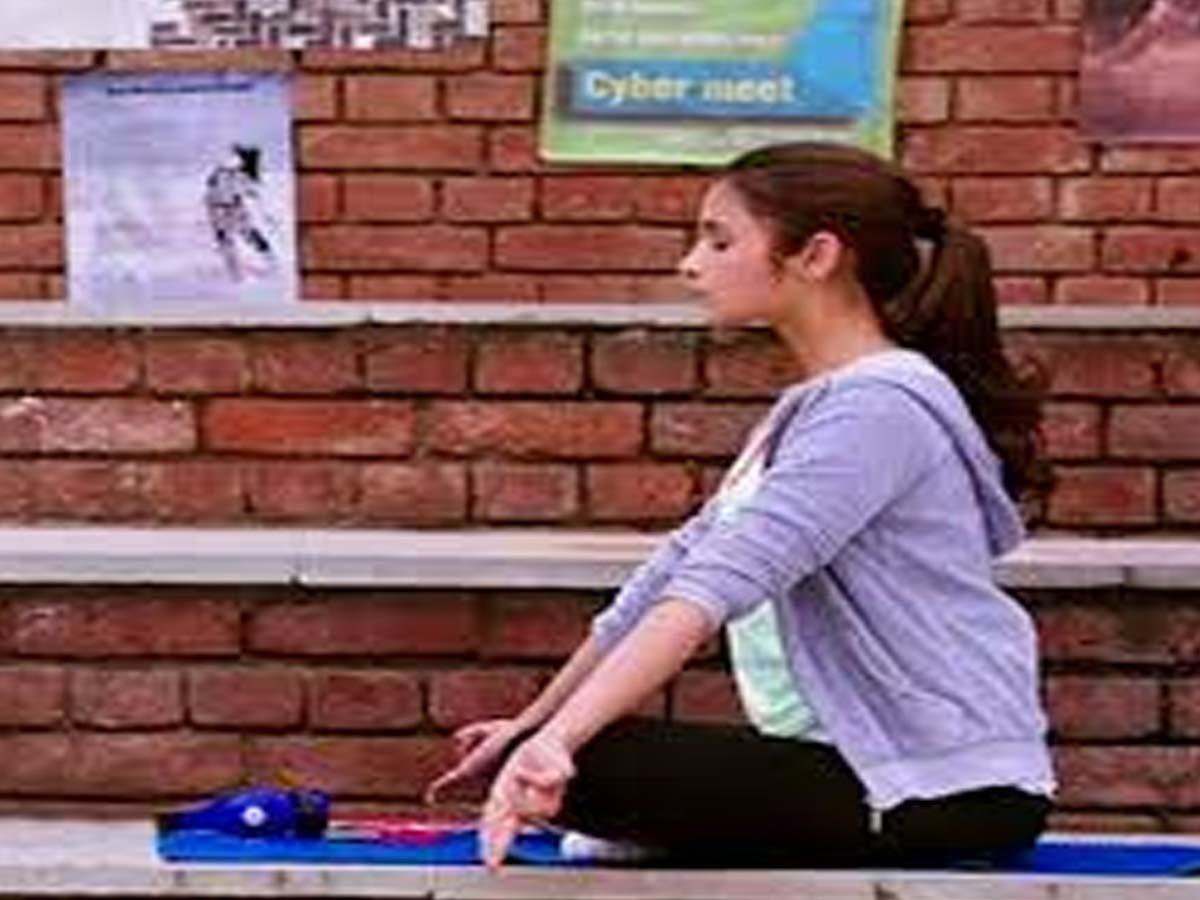 Indian Celebrities doing Yoga