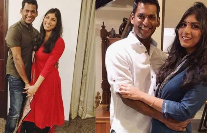 Vishal and Anisha Alla