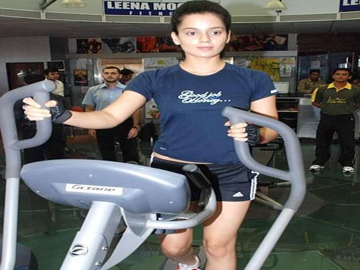 Kangana Ranaut workout