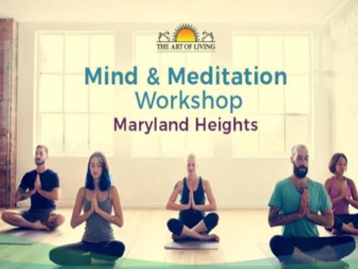 Mind & Meditation Workshop - Health & Fitness Events Happening in Delhi