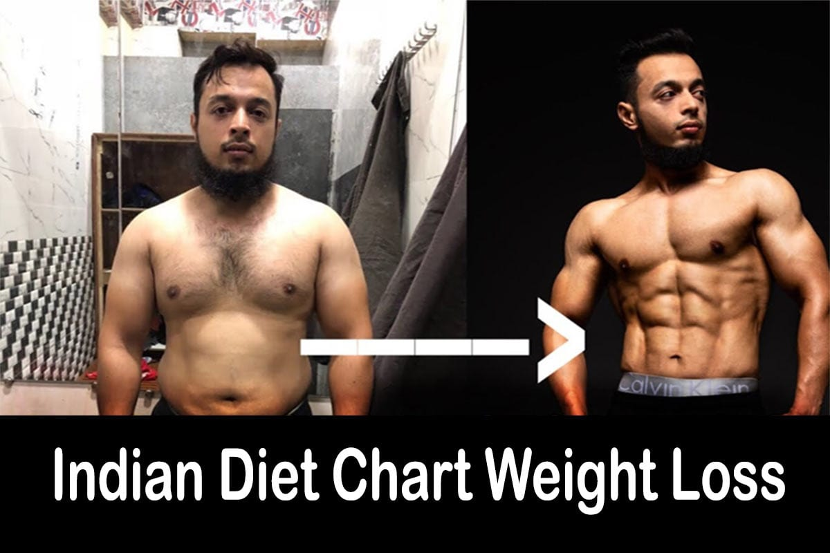 Indian diet chart weight loss