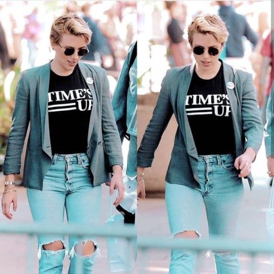 Scarlett Johansson - Celebrity Hairstyle