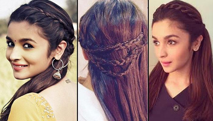 Alia Bhatt - Celebrity Hairstyle