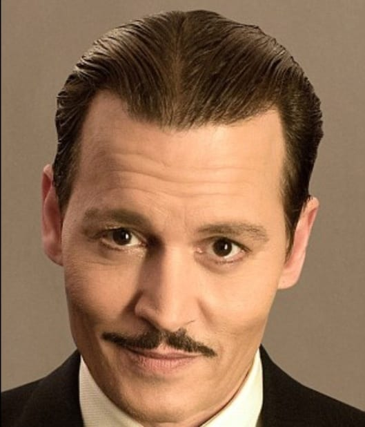 Image result for johnny depp in murder on the orient express