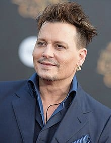Johnny Depp Short Hairstyles