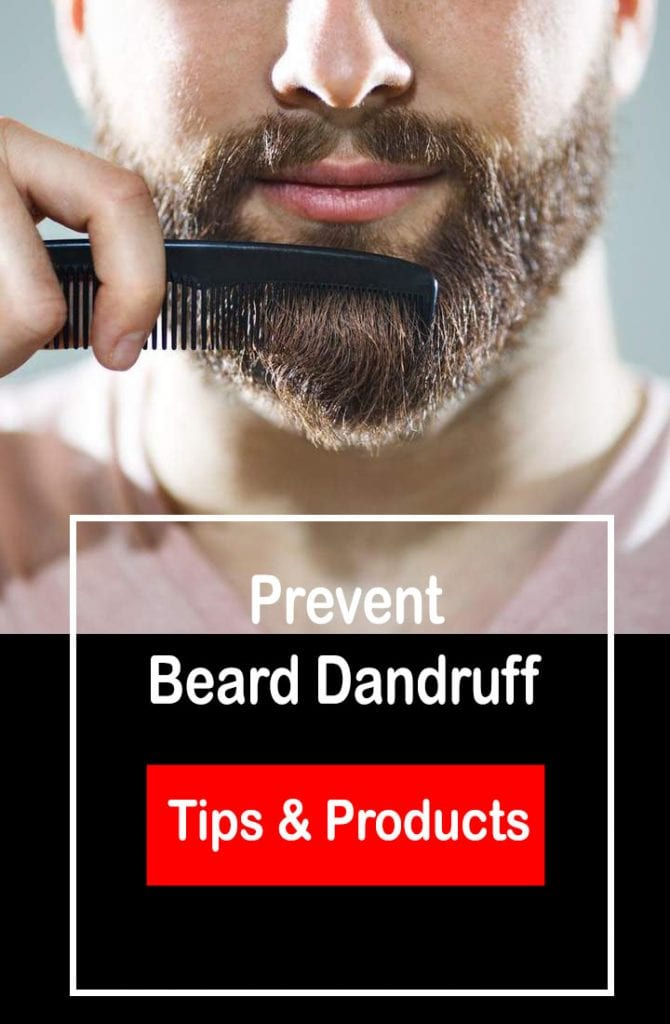 prevent beard dandruff