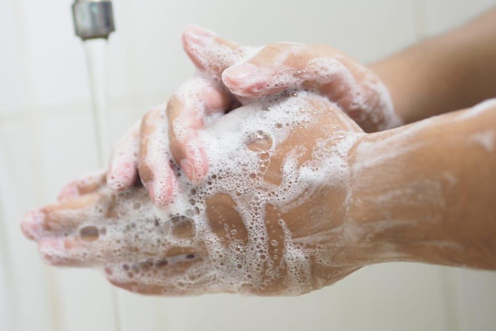 best hand hygiene