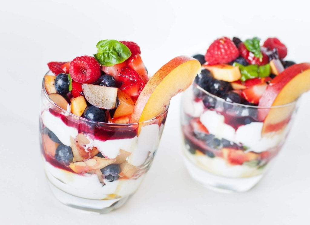 Greek Yoghurt with Fruits