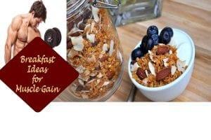 breakfast ideas muscle gain
