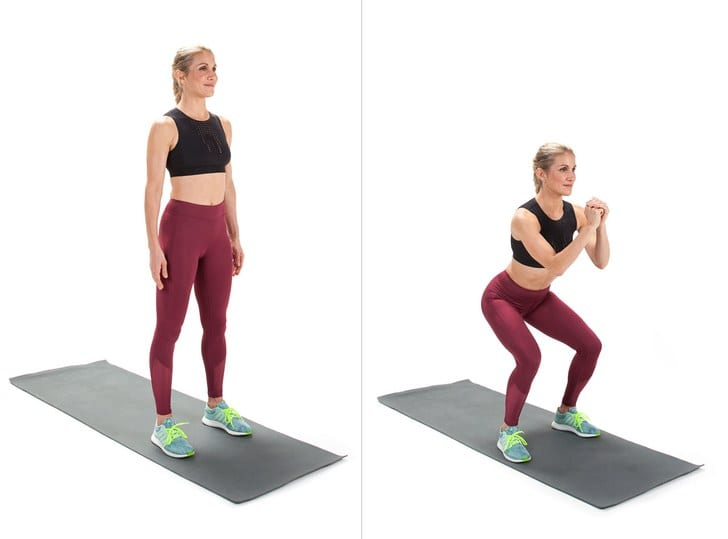 Squats - full body workout