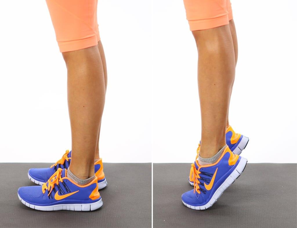 Calf Raises - full body workout
