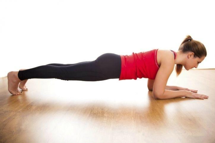 planks for beginners - Six pack abs workout