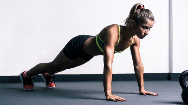 Pushups - full body workout